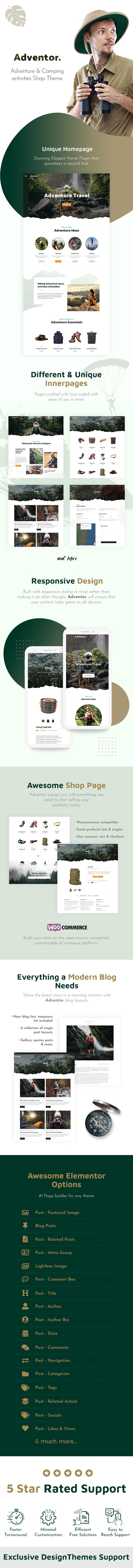 Adventor - Travel and Adventure WordPress Theme - 1