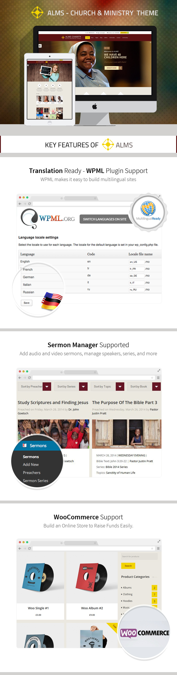 Alms - Church & NGO Responsive WordPress Theme