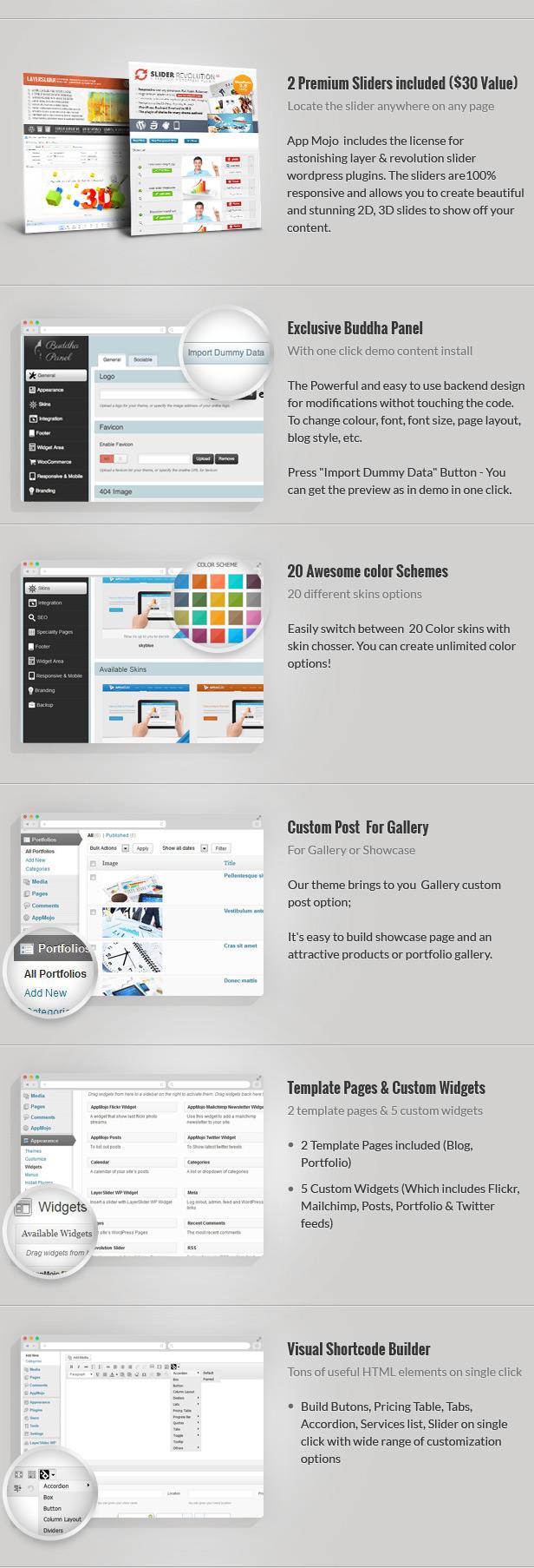 App Mojo - Single Page Software Promotion Theme  App Mojo - Single Page Software Promotion Theme  App Mojo - Single Page Software Promotion Theme