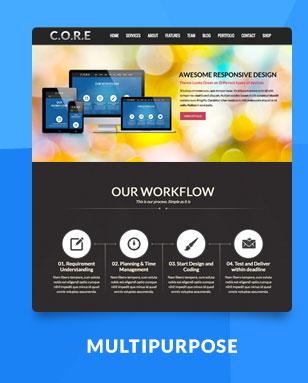 Core - OnePage Multipurpose WordPress Theme - 2