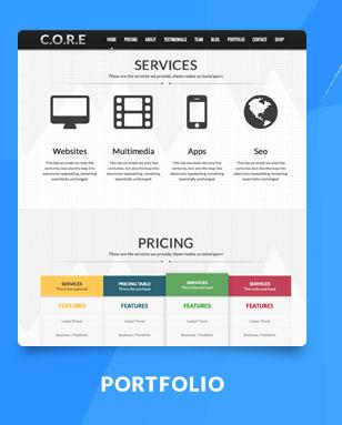 Core - OnePage Multipurpose WordPress Theme - 3