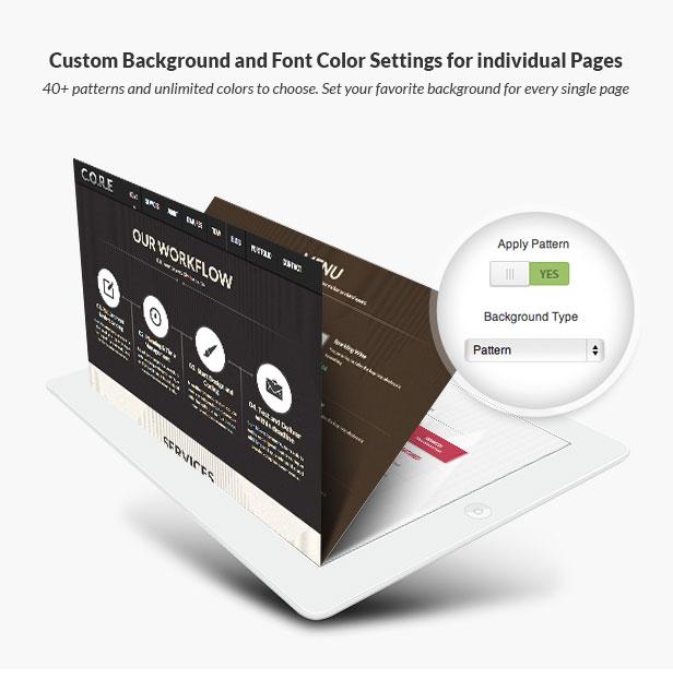 Core - OnePage Multipurpose WordPress Theme - 10