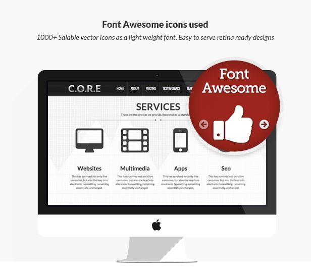 Core - OnePage Multipurpose WordPress Theme - 16