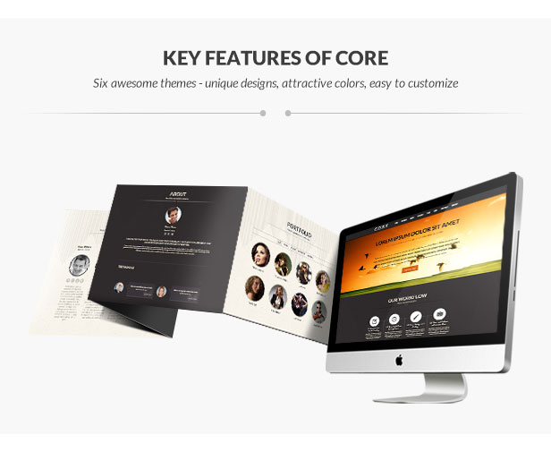 Core - Multipurpose One Page Theme