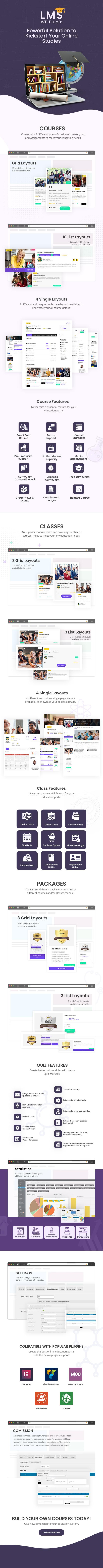 DT LMS - LMS, Cursos Online e Educação WordPress Plugin - 1