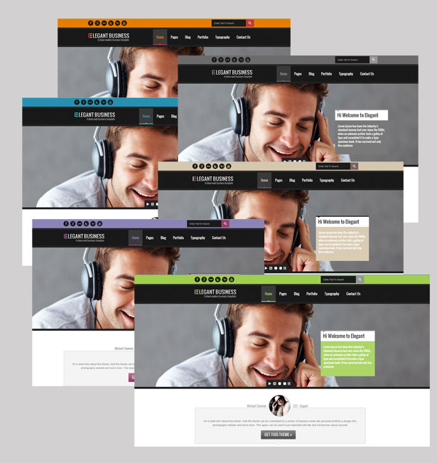 Elegant Business - Responsive HTML Template - 4