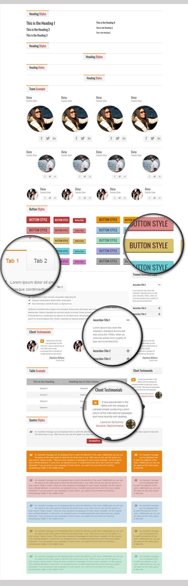 Elegant Business - Responsive HTML Template - 7