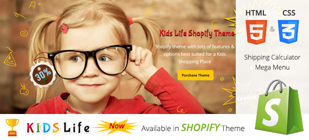 Kids Life - A Trendy Kids HTML Template