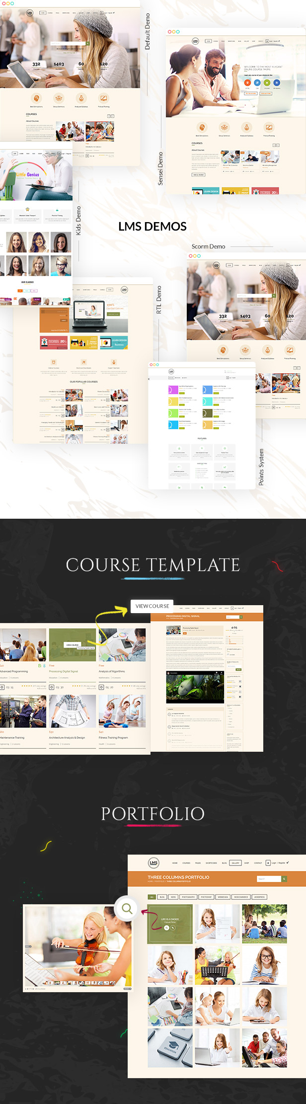 LMS WordPress Theme - 2