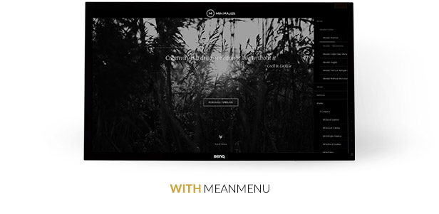 Minimalize Single Page Multi-purpose Theme