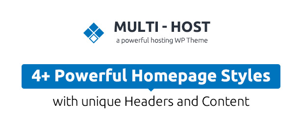 Multi Host | WHMCS Hosting WordPress Theme