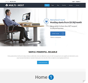Multi Host | WHMCS Hosting WordPress Theme - 2