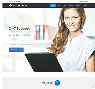 Multi Host | WHMCS Hosting WordPress Theme - 3