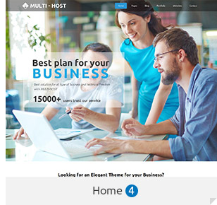 Multi Host | WHMCS Hosting WordPress Theme - 5