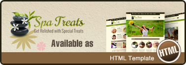 Spa Treats - Health & Spa Saloon PSD
