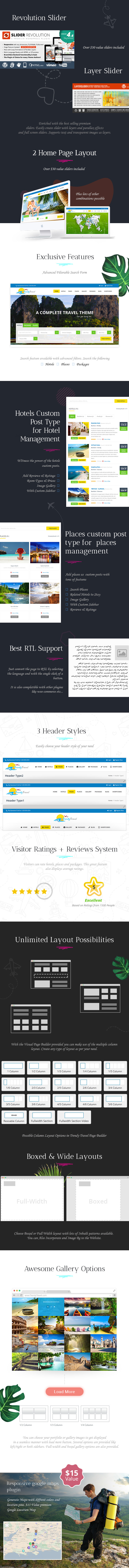 Trendy Travel Booking - 3
