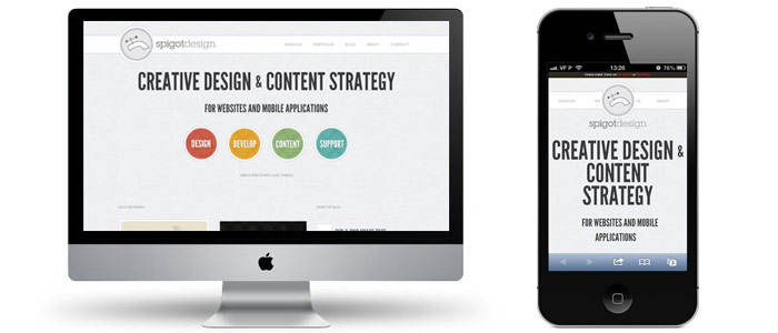 Spigot Design 29 new inspiring responsive designs on the web