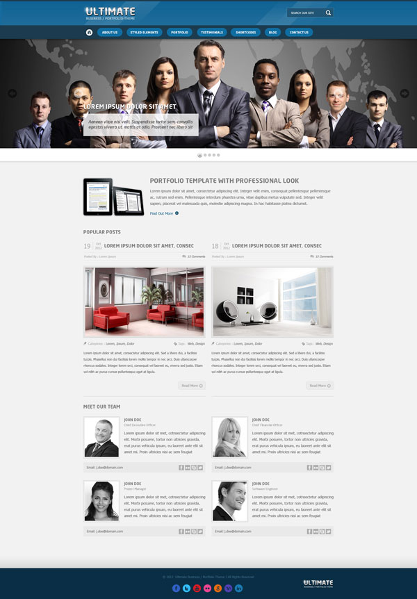 Ultimate Homepage v1