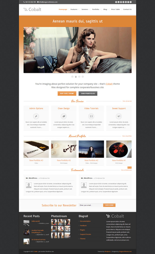 new and notable premium wordpress themes. Black Bedroom Furniture Sets. Home Design Ideas