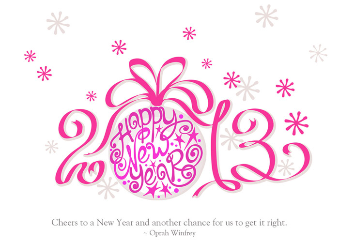 Happy New Year 2013 Quotes Wallpaper
