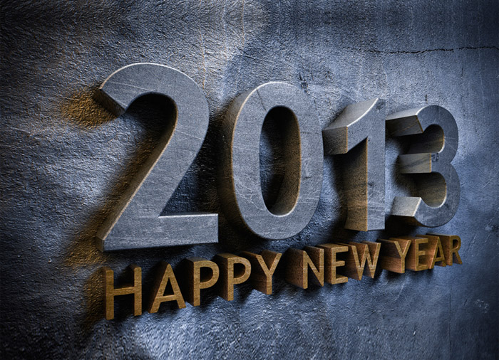 Happy New Year 2013 Wallpaper 1
