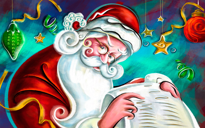 Jolly Santa Claus