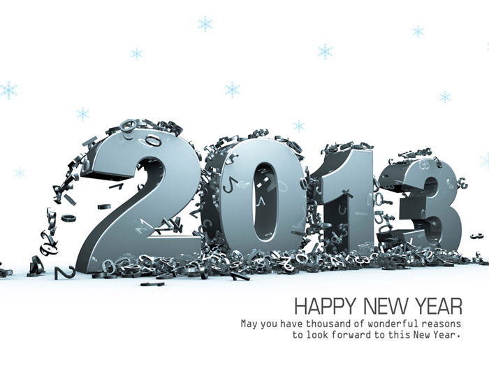 New Year Best Wishes Wallpaper