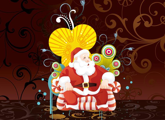 Santa Claus Art