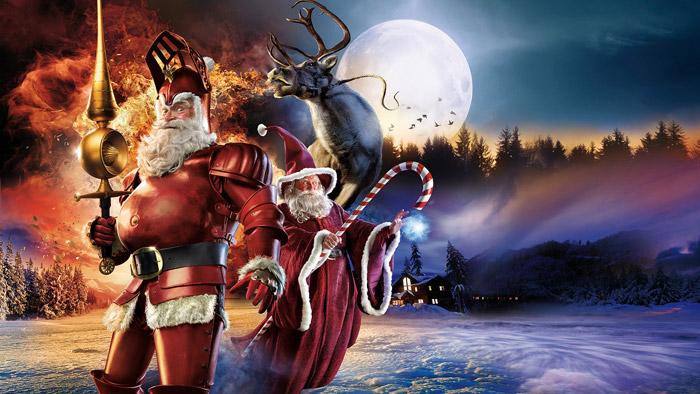 Santa Claus Reindeer