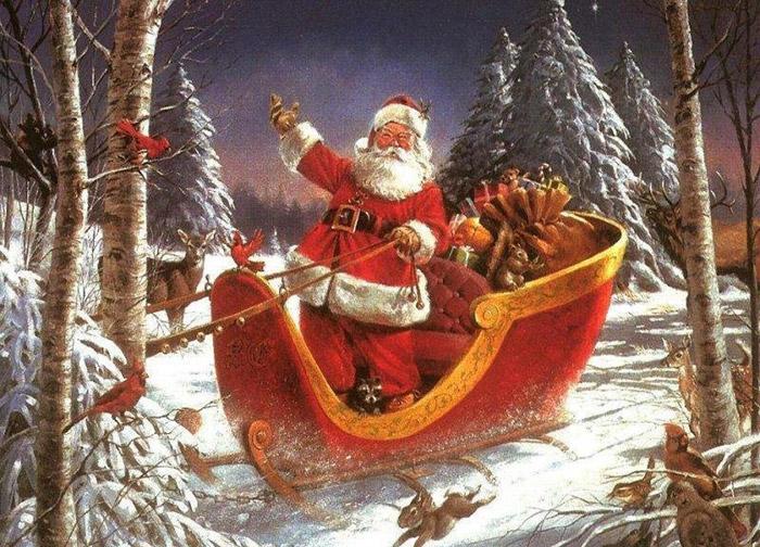 Santa Claus Arrived