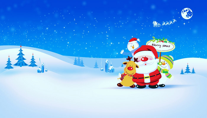 The Real Santa Claus Wallpaper