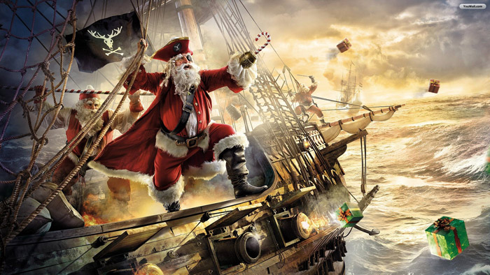 santa claus pirate