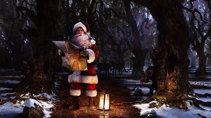 santa needs a gps