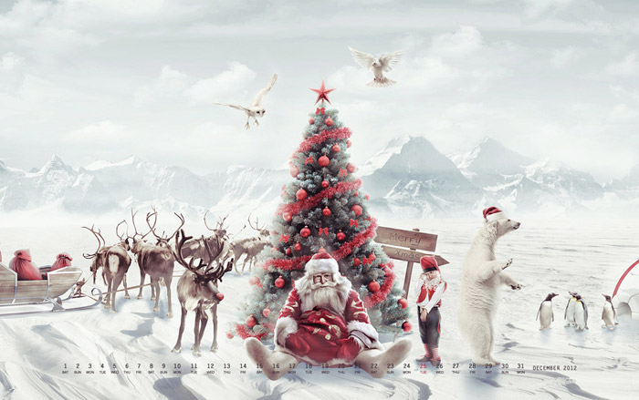wallpaper freebie for december 2012