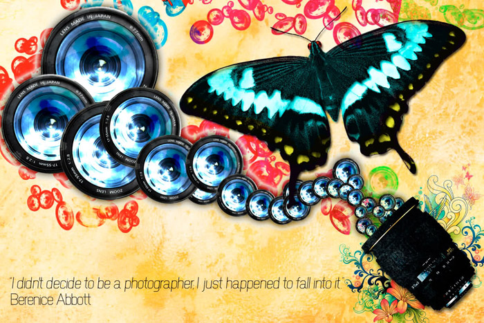 Psychedelic grunchy photography desktop wallpaper