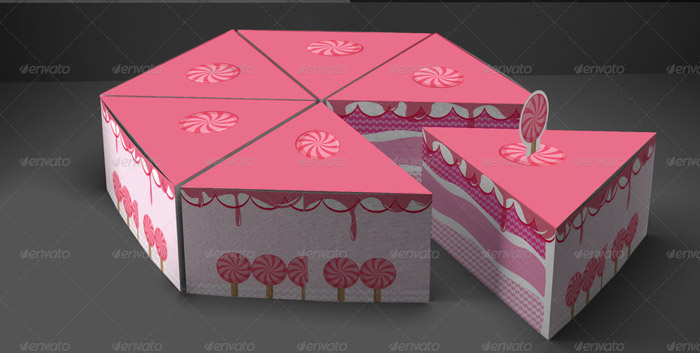 Cake Box Design Vector : 15+ Best Packaging Templates