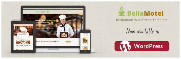 Bella - Restaurant and Bakery PSD Template - 1