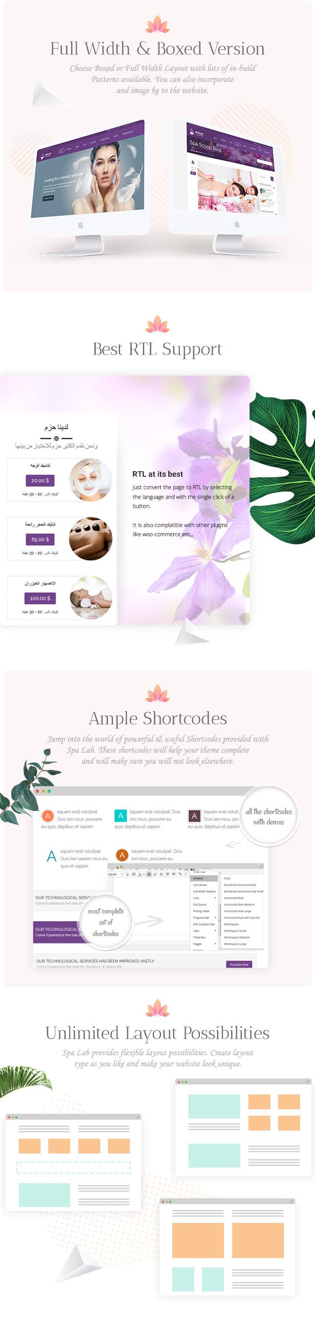Spa Lab | Beauty Salon, Wellness WordPress Theme - 7